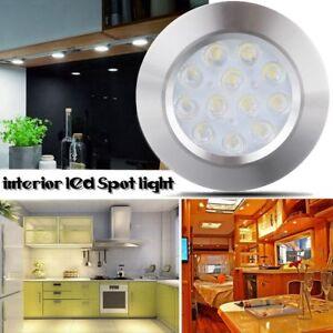 12v interior led spot light for camper van caravan motorhome boat vw