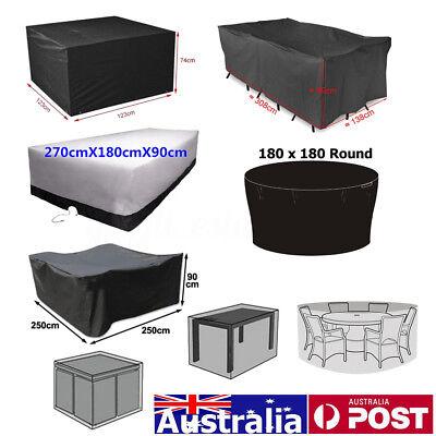 Garden Furniture Set Rain Cover 2-10Seater Outdoor Patio Table Protection 7 Size