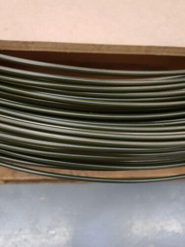 TRIUMPH TR OLIVE GREEN STEEL BRAKE PIPE 4.76MM X 30FT ROLL CAR BRAKE PIPE