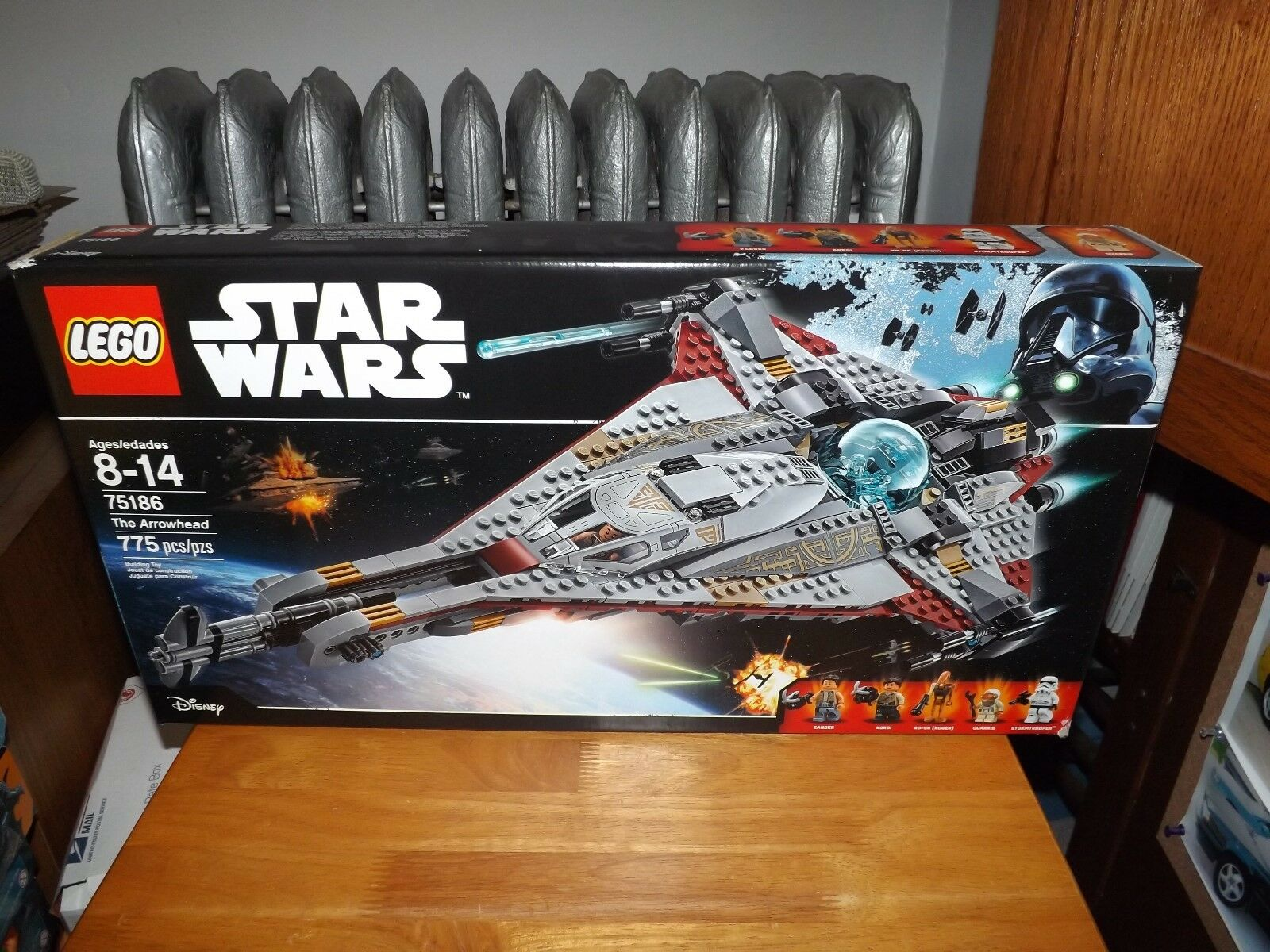 LEGO, STAR WARS, THE ARROWHEAD, KIT  75186, 775 PIECES, NEW IN BOX, 2017