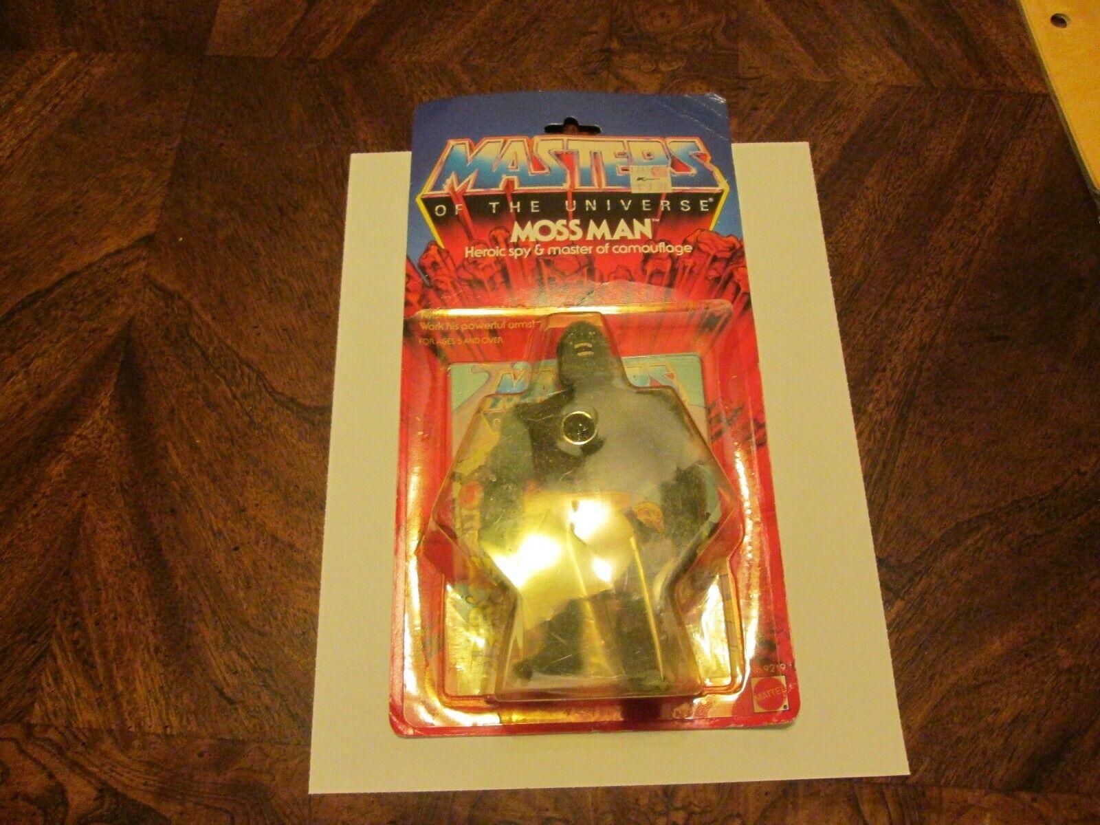 MOTU Masters of the Universe Vintage MOSS uomo WautoD Mattel giocattoli 1983