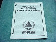 Arctic Cat 1991 Parts Manual Cheetah Touring Snowmobile Book OEM #214