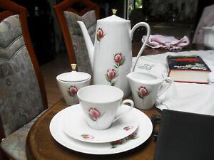 Kaffeeservice 7 Gedecke 3 tlg. Winterling, Kaffeekanne, Milchkännchen. Zuckerdos - Düren, Deutschland - Kaffeeservice 7 Gedecke 3 tlg. Winterling, Kaffeekanne, Milchkännchen. Zuckerdos - Düren, Deutschland