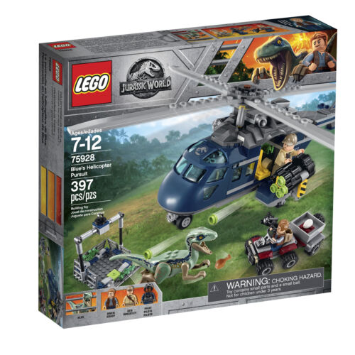 Lego 75928 Jurassic World Blue/'s Helicopter Pursuit  New