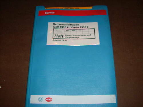 Workshop Manual Vw Golf Iii Diesel Fuel Injector