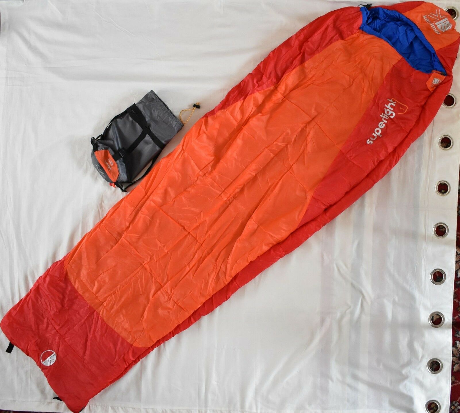 Karrimor Superlight 1 Schlafsack rot H15cm x W78cm