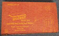 SALTON HOTRAY AUTOMATIC FOOD WARMER GLASS TOP Hot TRAY MODEL HT-6 R11749