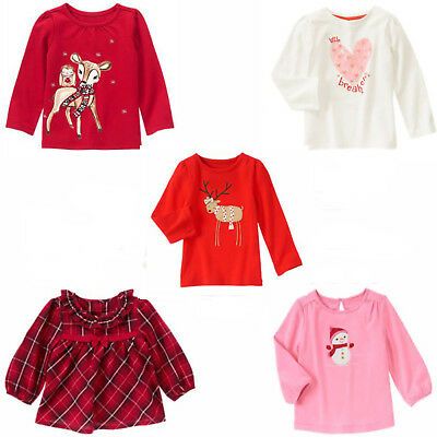 Gymboree Sunny Citrus Tops 12-18-24 2T 3T 4T 5T Toddler Girls Summer Shirts New