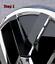 Folierung-Set-schwarz-chrom-passt-fuer-Heck-VW-Emblem-Golf-VII-5G-ab-2013 Indexbild 2