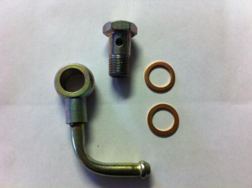 eye union line 8mm ID Banjo elbow bolt  washers,14X1.5 Thread Bolt head 19mm