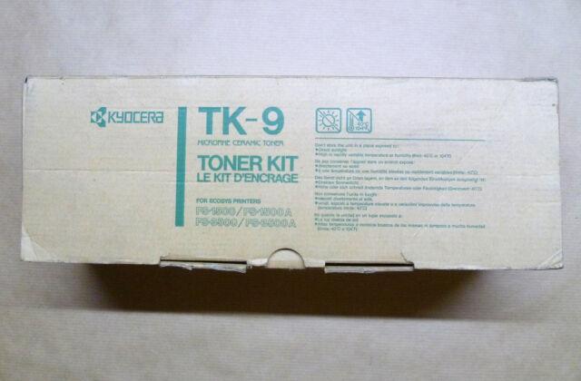 Kyocera original Toner TK-9 schwarz black FS-1500 FS-1500A FS-3500 FS-3500A OVP