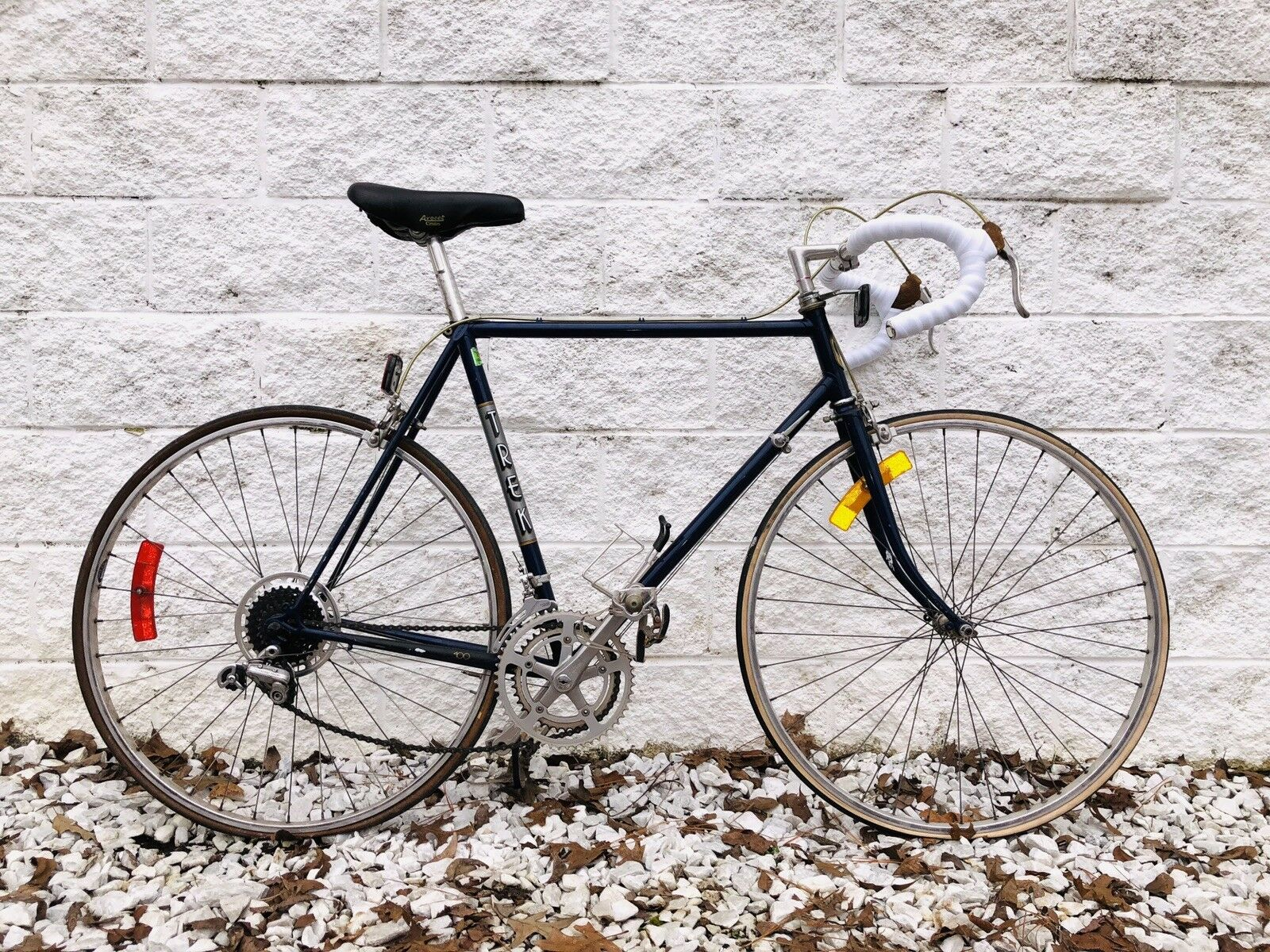 Vintage Trek Touring Road  Bike   12-Speed   58cm Double Butted Steel Frame  guaranteed