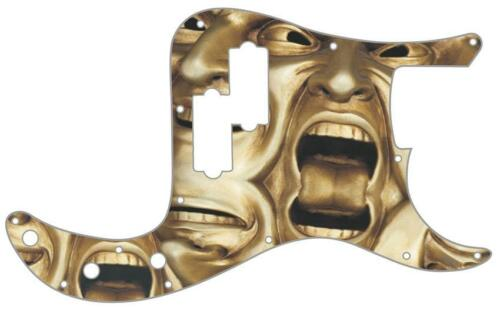 P Bass Precision Pickguard Custom Fender 13 Hole Guitar Pick Guard Tongue Tied