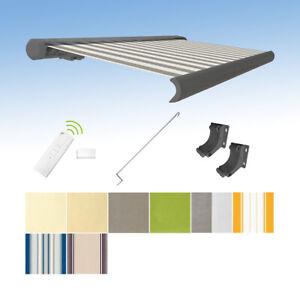 Kassettenmarkise-elektrisch-Vollkassettenmarkise-grau-mit-Farb-und-Laengenwahl