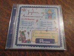 Cd Album Bon Anniversaire Florian Joyeux Anniversaire Ebay