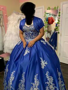 quinceanera dress blue