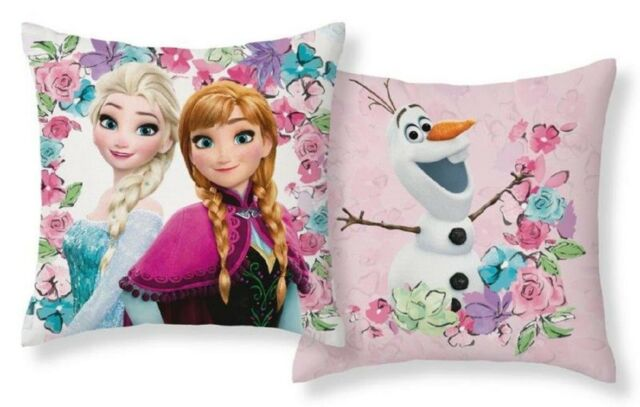 CTI Dekokissen Kissen Kinderkissen Die Eiskönigin Frozen 40 x 40 cm neu