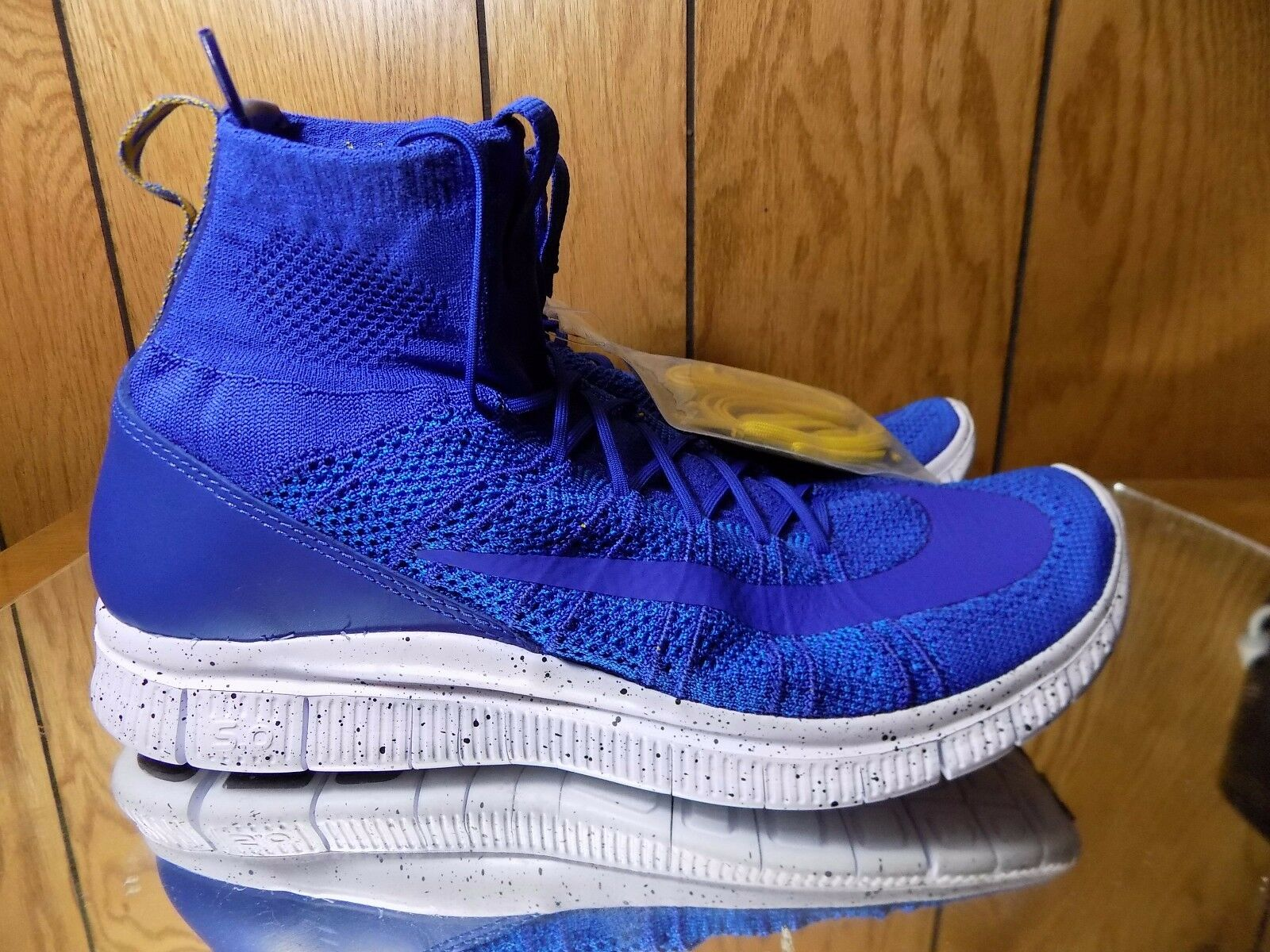 New Nike Free Flyknit Mercurial shoes Trainers Sport Athletic bluee 805554 400 s.