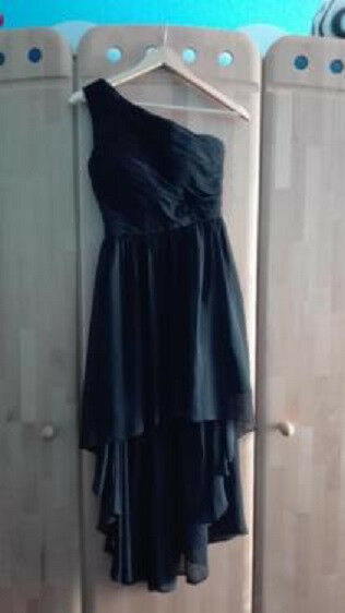 Kleid LAONA Konfirmation  Abschluß  Abendkleid Gr. 34 Schwarz Kurzgröße