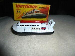 MATCHBOX-72-HOVERCRAFT-NICE-EXAMPLE-1972