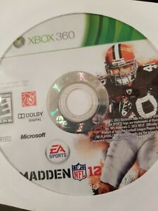 Madden-NFL-12-Xbox-360-Disc-Only-Tested-Fast-Free-Shipping