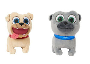 979045807bb90 Disney Junior Puppy Dog Pals Pet   Talk Plush - Rolly or Bingo NEW ...