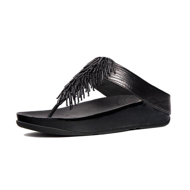 2e9bbf1d574c NEW FitFlop Cha Cha Beaded Sandals