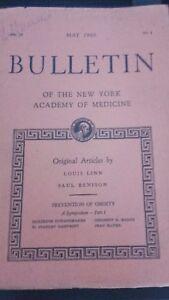 Rivista-Notiziario-Of-I-York-Academy-Of-Medicina-1960-VL-36-N-5