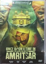 ONCE UPON A TIME IN AMRITSAR - 2016 PUNJABI MOVIE DVD / REGION FREE / SUBTITLES