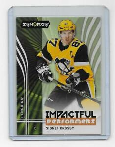 Sidney-Crosby-2019-20-Upper-Deck-Synergy-Impactful-Performers-Pittsburgh-Penguin