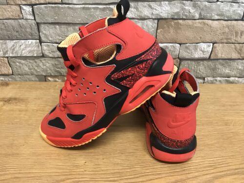 Challenge Tech Huarache Uk Nike Atomic pâle Air Unisexe Crimson 7 Mango atwRxq