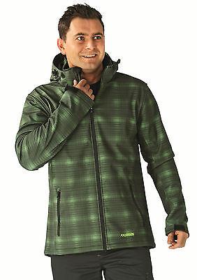 3730 Planam CHUCK Softshell Jacke grün Berufsbekleidung Outdoor Jacke Herren NEU