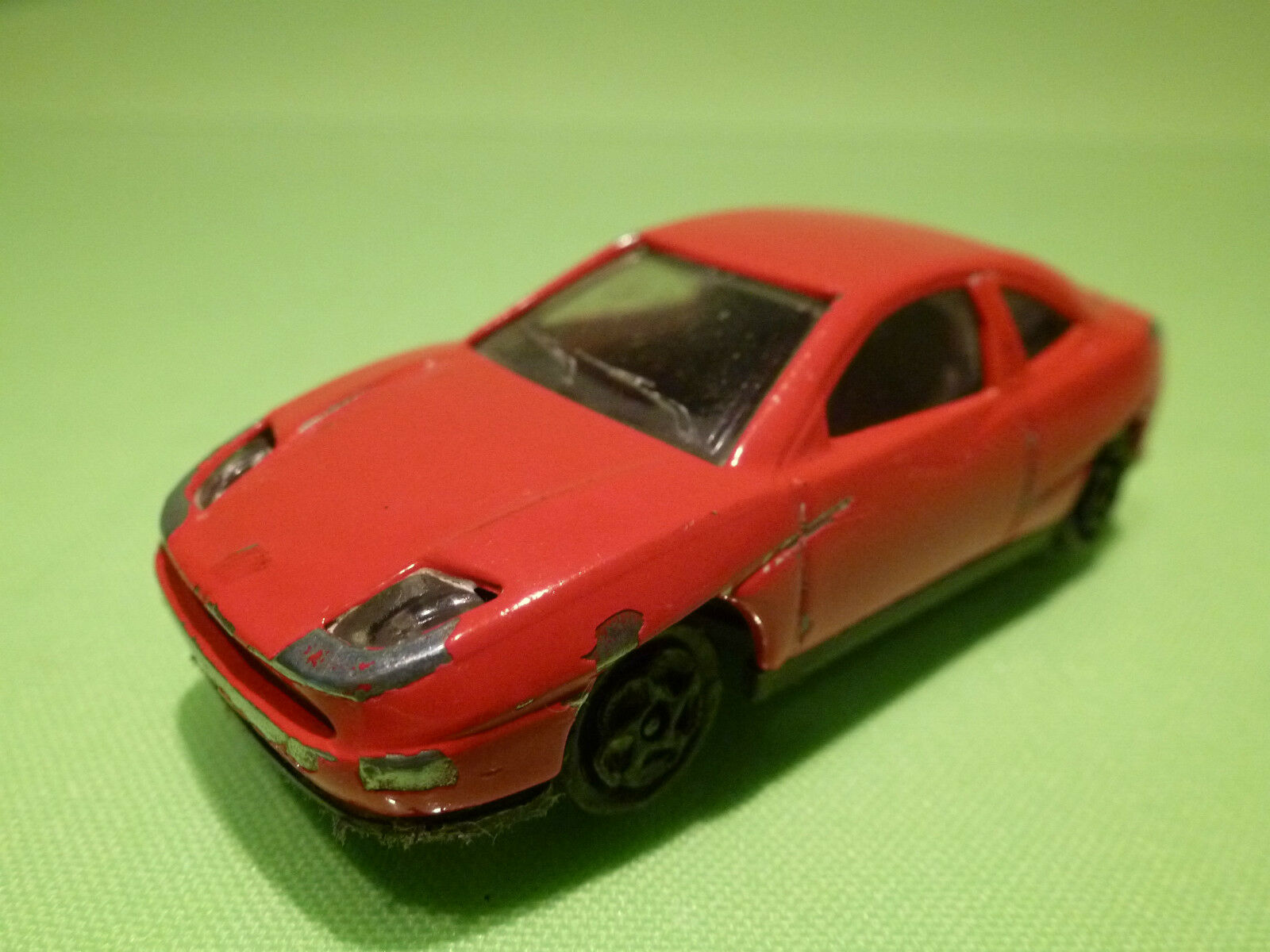 MAJORETTE 201 FIAT COUPE - RED - 1 58 - EXTREMELY RARE -SEHR SELTEN - GOOD COND.
