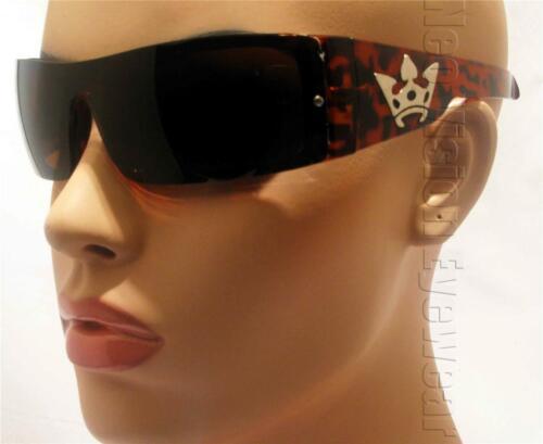 Triple Crown Reaction Tortoise OG LOC Style Sunglasses Gangster Cholo Super Dark