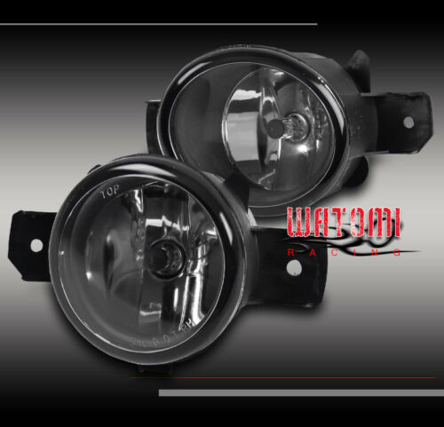 BUMPER DRIVING FOG LIGHTS LAMP CHROME FOR SENTRA MAXIMA ALTIMA ROGUE M35 M45 G37