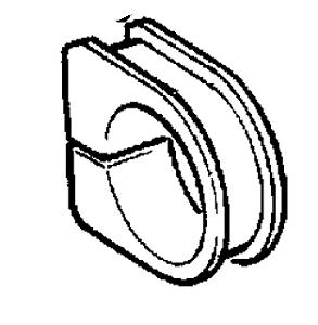 90495816 Vauxhall exterior de anillo de goma-Genuino NUEVO
