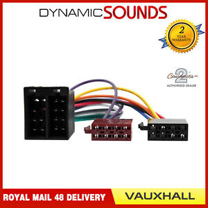 CT20UV02-Car-Stereo-Radio-ISO-Harness-Adaptor-Lead-For-Vauxhall-Corsa
