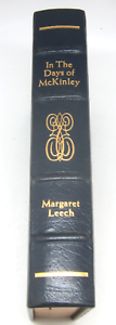 In-the-Days-of-McKinley-Leech-Library-Presidents-Leather-Gilt-Easton-Press-VG
