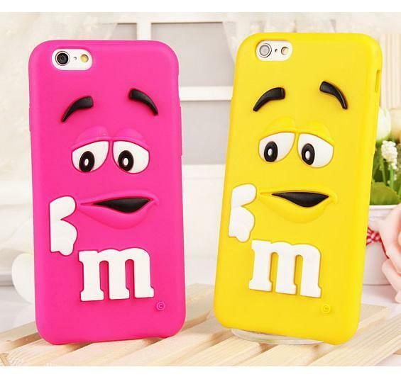 【Cute】Fashion 3D Lovely Soft Silicone Case Protect Cover For iPhone 6 4.7/6 Plus