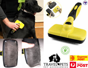 Self-Cleaning-Slicker-Brush-Cats-Dogs-Animals-Grooming-Brushing-Fur-Dematting
