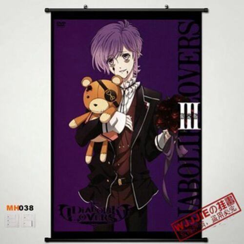 Anime DIABOLIK LOVERS  Sakamaki Kanato  Home Decor Wall  poster Scroll MH038