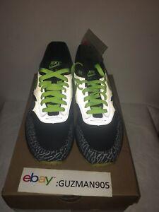 141c416f449f9 2008 Nike Air Max 1 Premium Size 9.5 112 DJ Clark Kent Patta Cement ...