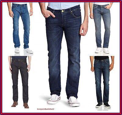 Compiacente Lee Pawell Jeans Pantaloni Da Uomo Elasticizzati Slim Fit A Vita Bassa 44 46 48