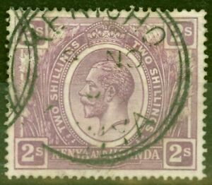 KUT 1922 2s Dull Purple SG88 Fine Used Stamp