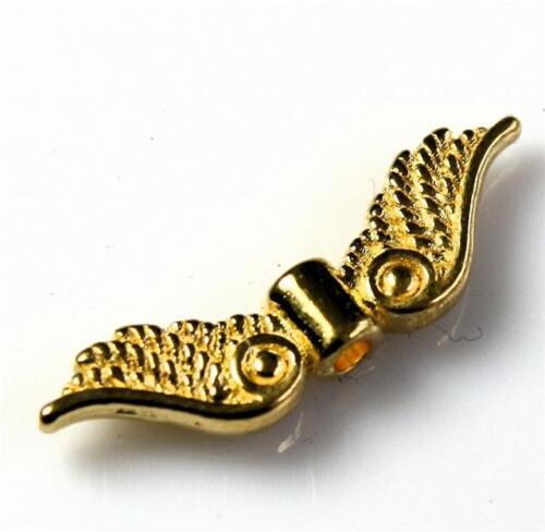 20 x Fairy Angel Wings Charms 23 mm x 7 mm Choix De Couleurs Top Qualité