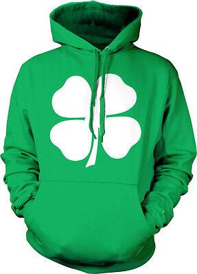 Eire Shamrock Ireland 4 Leaf Clover St Patricks Day Irish  Hoodie Pullover