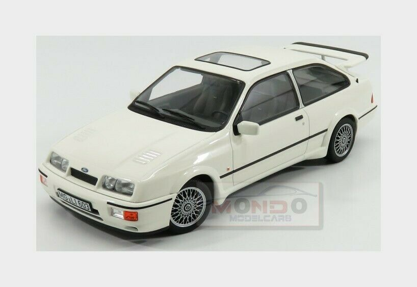 Ford England Sierra Rs Cosworth 1986 blanco NOREV 1 18 NV182771