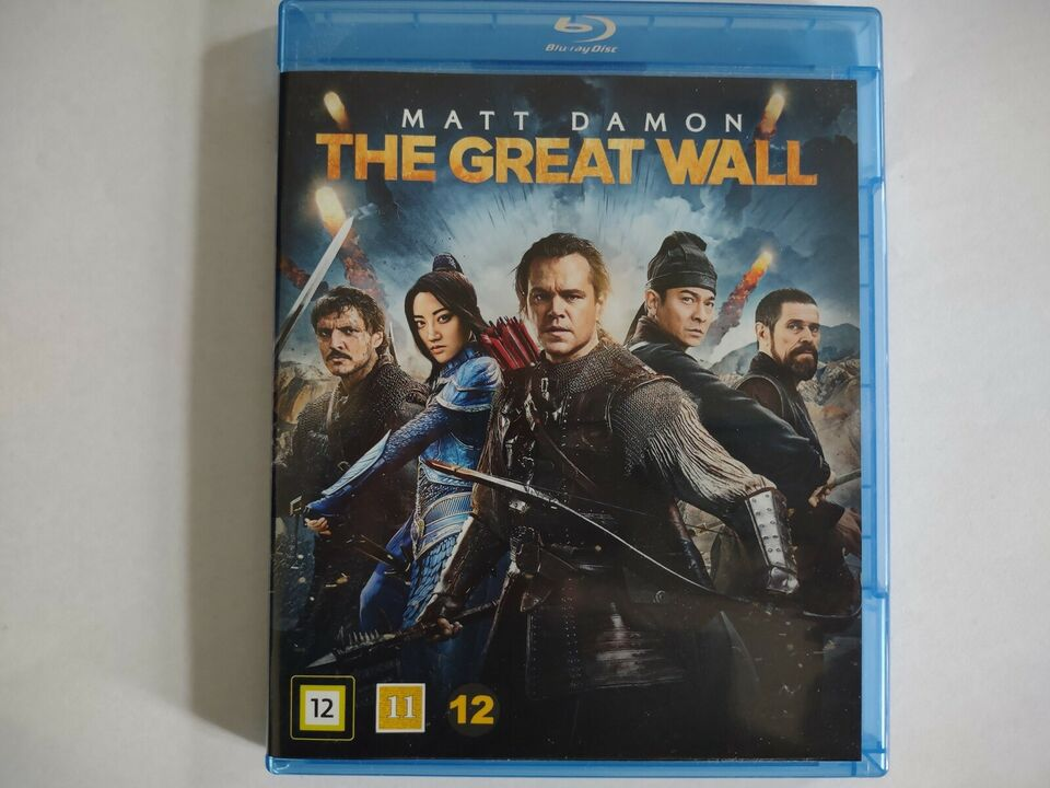 The great wall, Blu-ray, action
