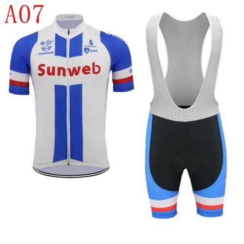 Mens Team Cycling Bib Shorts Cycling Jersey Bib Shorts Set Cycling Jersey M04