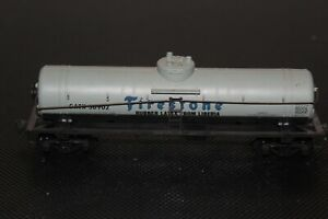 HO-Scale-Firestone-Tanker-Auto-Single-Dome-Gummi-Latex-aus-Liberia-GATX-30902